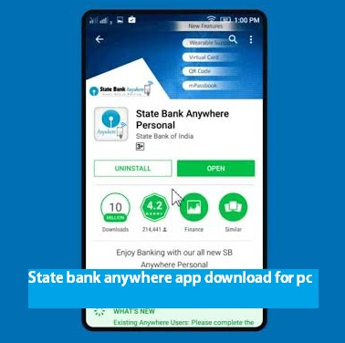 State bank anywhere app download for pc