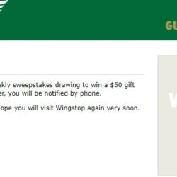 Wingstop survey process