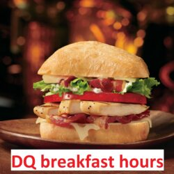 DQ breakfast hours